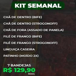 BF kit Prático Semanal - 500g
