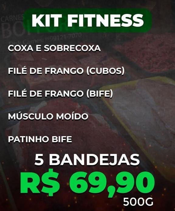 BF Kit Prático Fitness - 500g