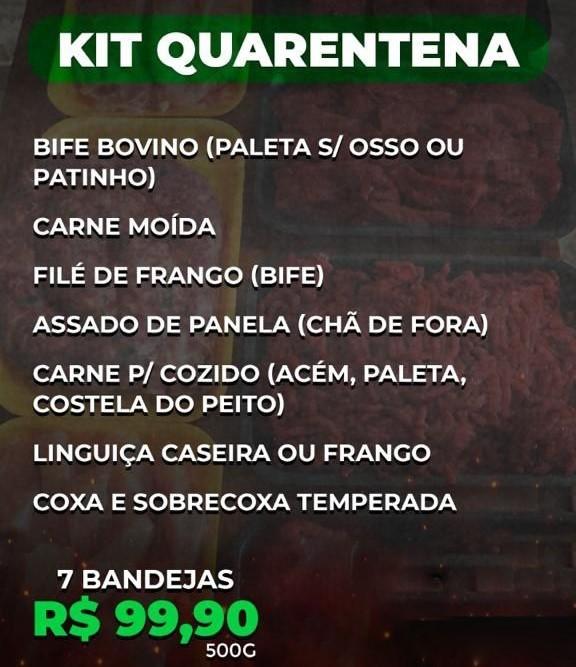 BF Kit Prático Quarentena - 500g