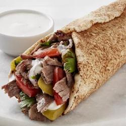 Shawarma de Falafel (Carne e Frango)