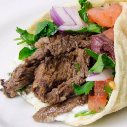 Shawarma de Filé Assada na Brasa